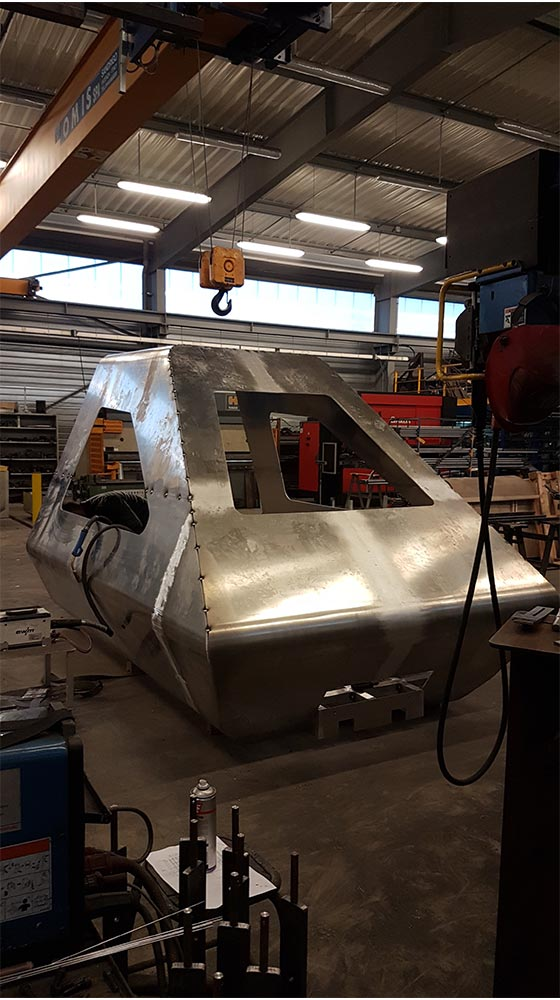 Fabrication - Cabine simulateur train